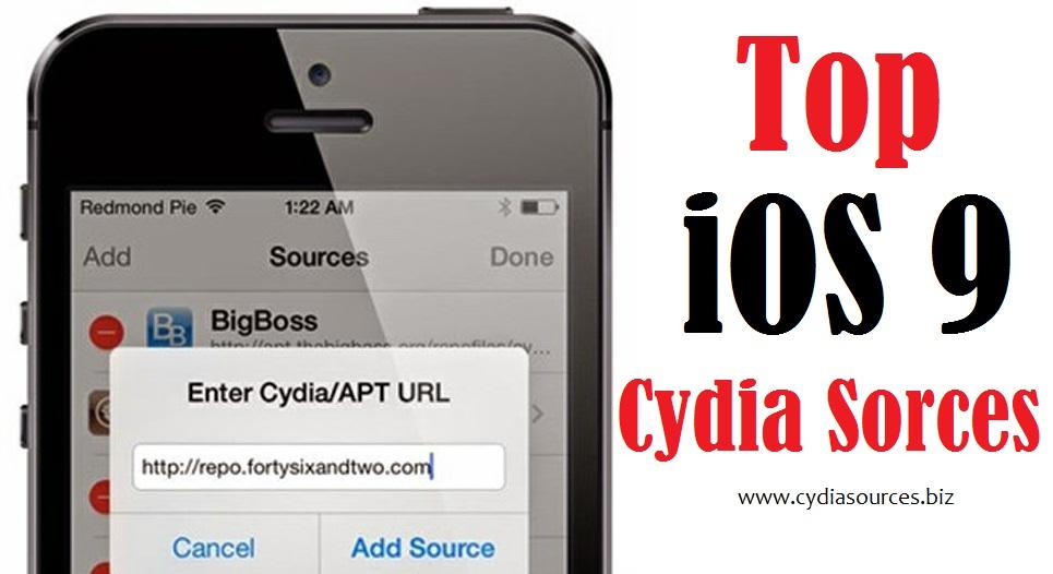 Cydia Sources: iOS 9 Cydia Sources