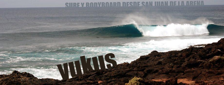 YUKUS: Surfing desde San Juan de la Arena