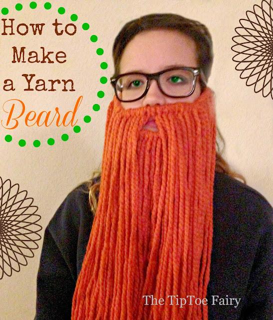 how to make a faux beard