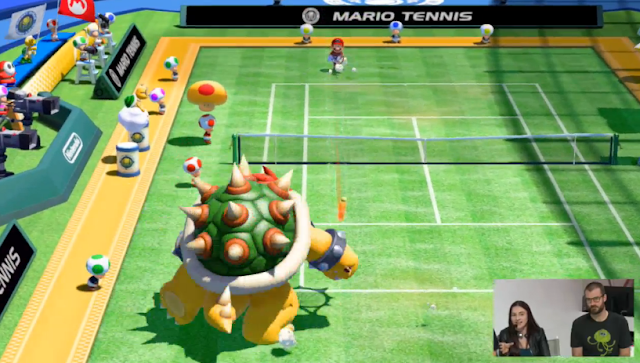 Mario Tennis: Ultra Smash Mega Battle Bowser
