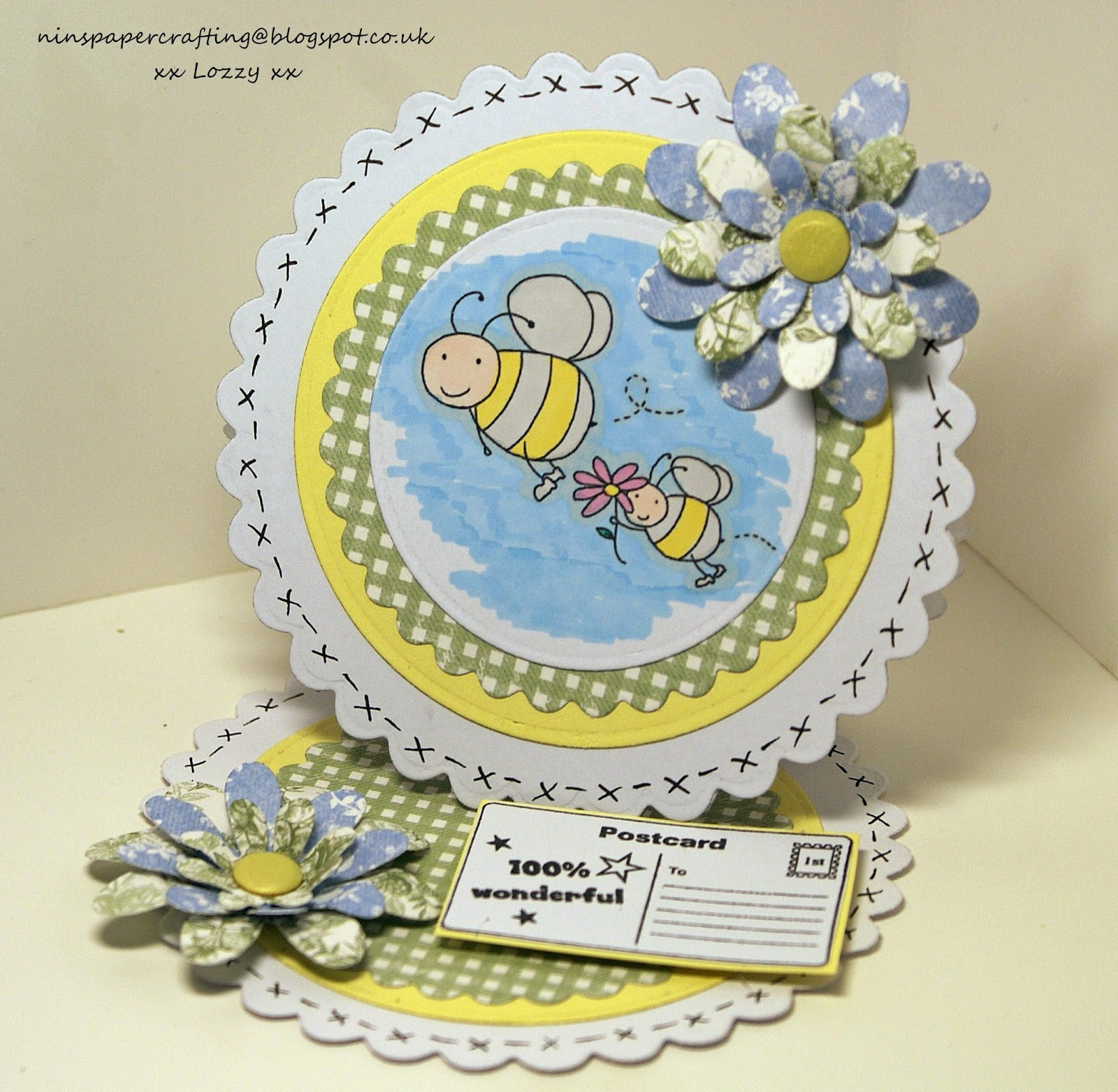 little claire s designs fridays blog project scallop circle easel