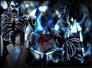 sasuke devil susanoo new power of darkness mangekyou sharingan uchiha amaterasu wallpaper shippuden