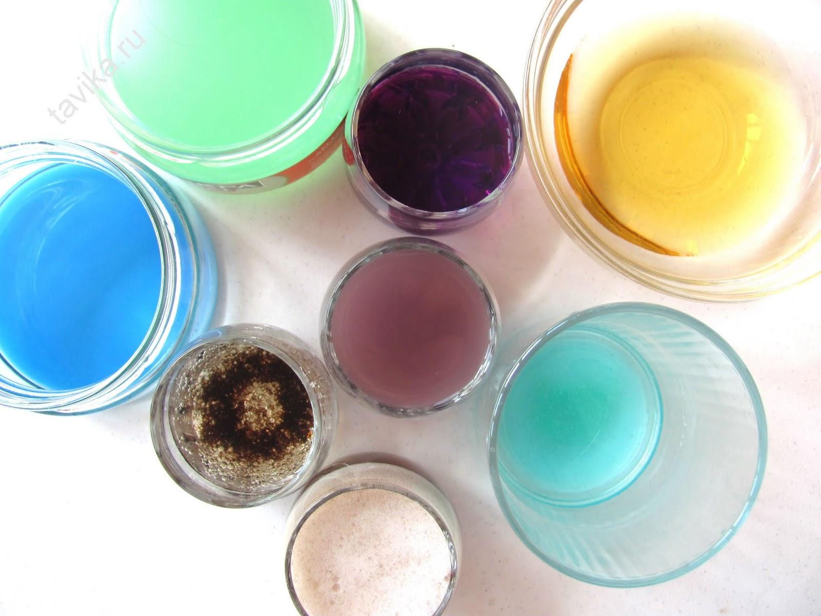 опыты по химии на изменение цвета жидкостей и растворов
