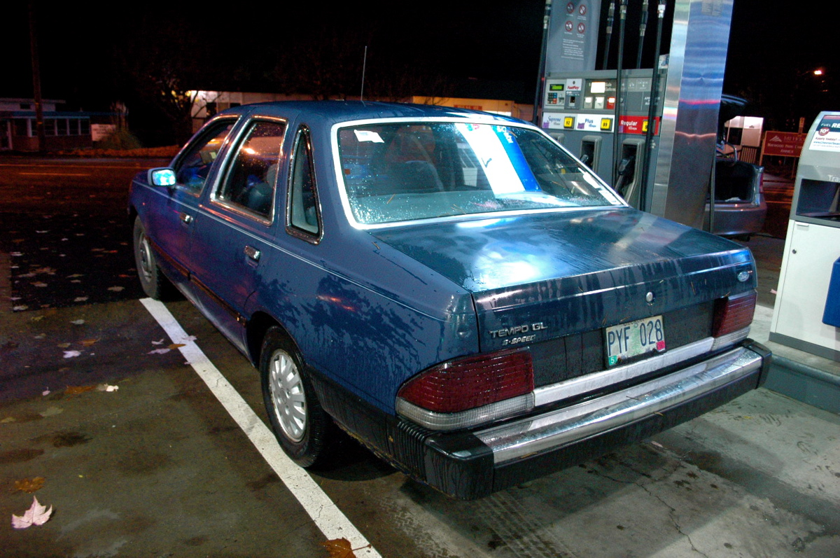 old parked cars saturday night at the pump 1984 ford. Black Bedroom Furniture Sets. Home Design Ideas