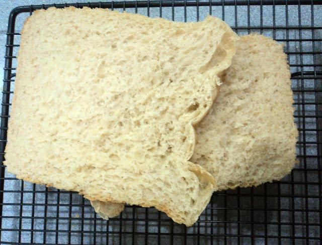 Mi primer pan en panificadora pan básico