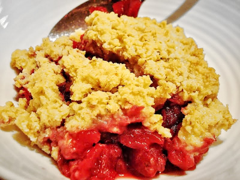 Gluten Free SCD and Veggie: Blackberry and Apple Crumbles GF and SCD