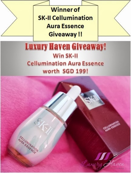 skii cellumination aura essence giveaway winner