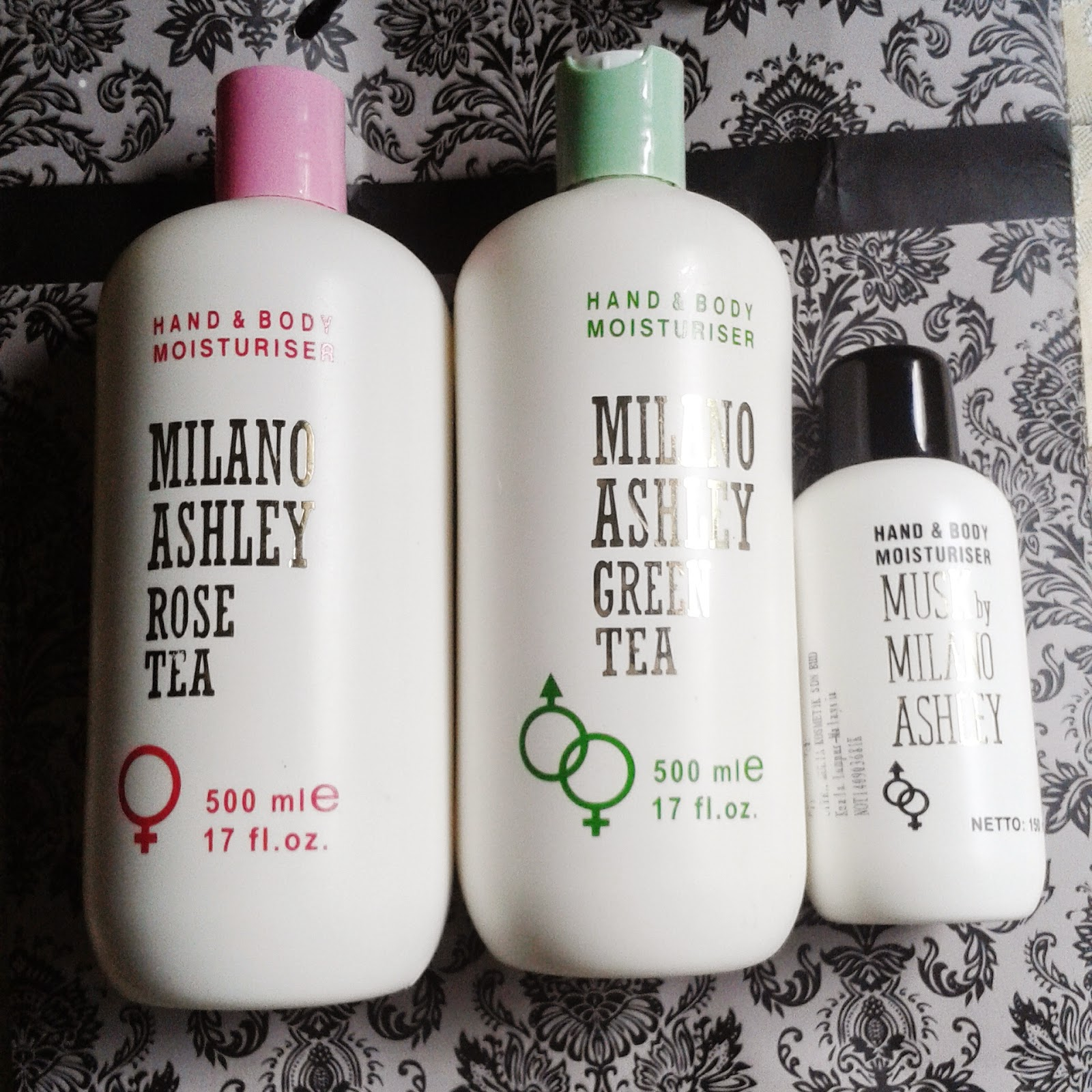 Milano Ashley Hand and Body Moisturizer