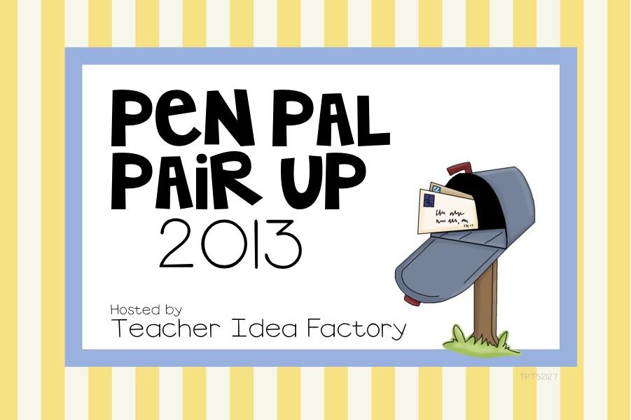 pen pal news friendly letter freebie