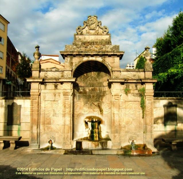 Las Burgas, fuente termal en Ourense