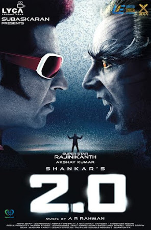 Poster Of Bollywood Movie 2.0 2018 300MB Pdvd Full Hindi Movie