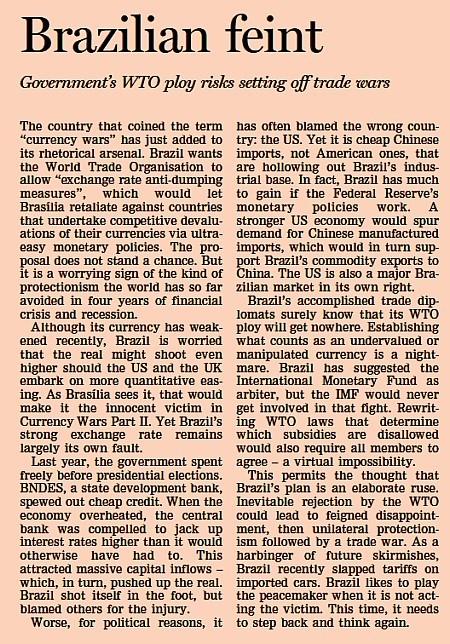 Artigo do Financial Times
