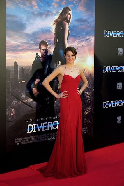 Shailene Woodley: Divergent Premiere