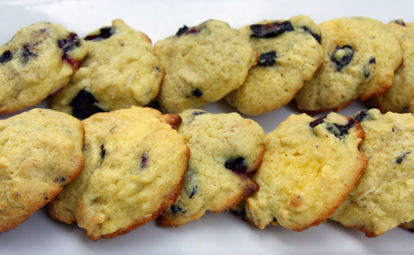 Lemon pudding cookies