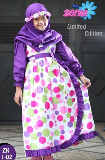 Tren Baju Muslim Anak 2015
