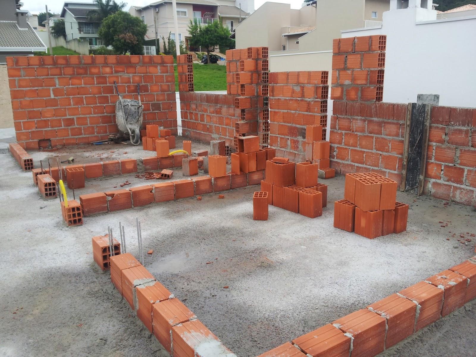 #9E482D Construção de Rody e Fábio: 15a Semana Concretagem da 1a laje 1600x1200 px um banheiro para dois quartos