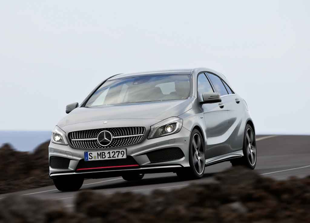 Auto-blog ARGENTINO: Imágenes, Nuevo Mercedes-Benz Clase A.