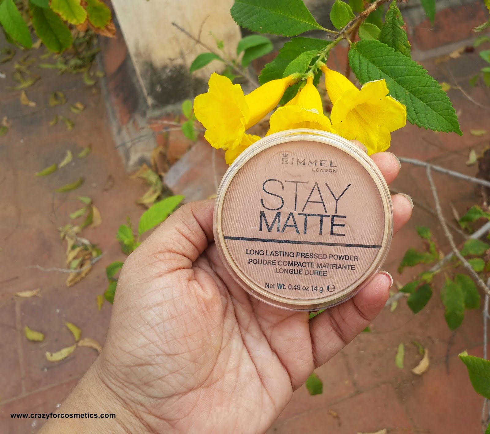 Rimmel London Stay Matte Pressed Powder - 007 Mohair Review & Swatches