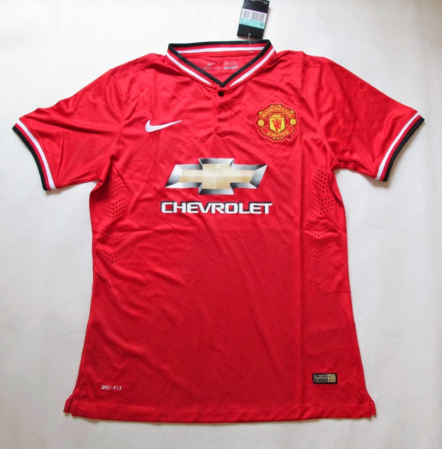 Manchester United's New Chevrolet 2014-15 Kit Jersey