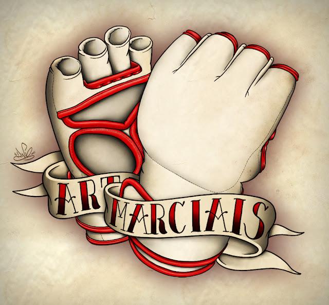 Artes Marciais Tattoo Style