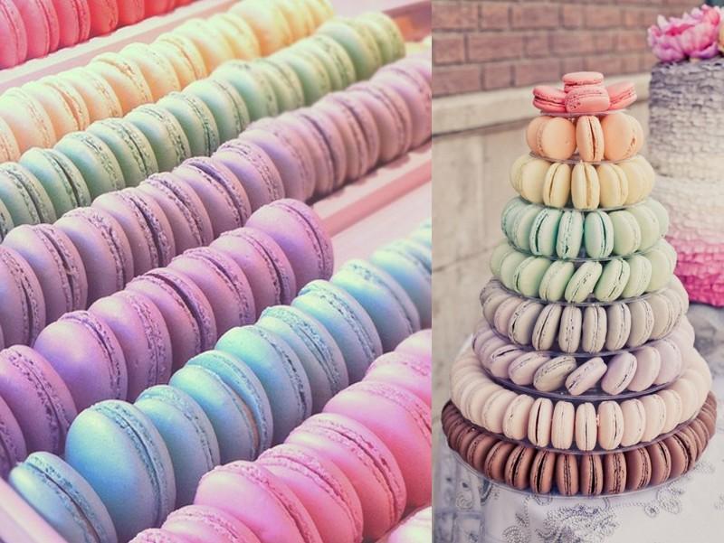 Jolijn pin post macarons - Felle kleuren ...