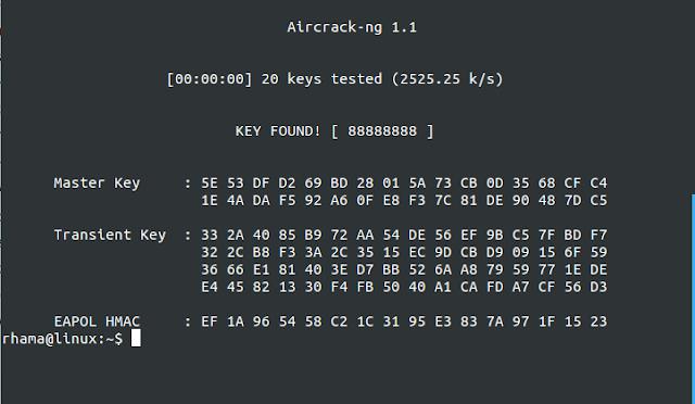 Crack Wifi wpa2-psk Aircrack-ng