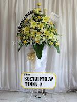 standing bunga lily duka cita murah