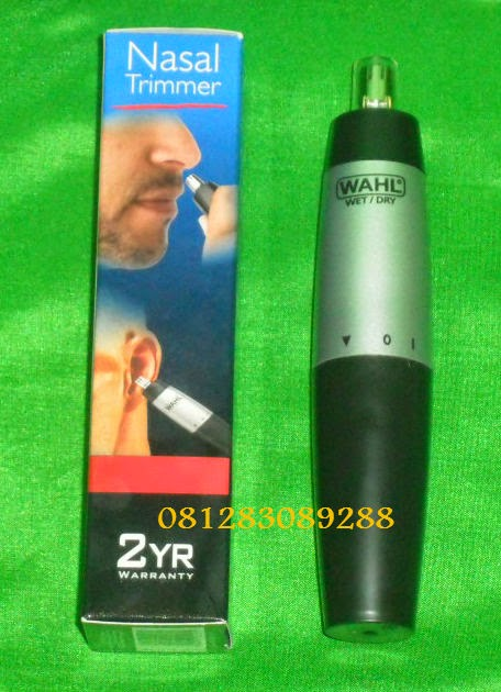 wahl ear nose and brow trimmer instructions