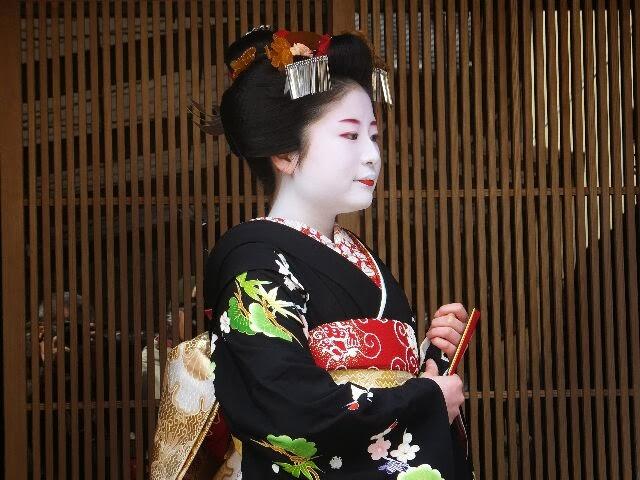 紫乃さんは舞妓さんの雰囲気あった!!