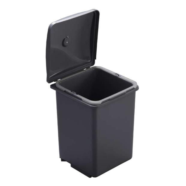 cubo basura apertura puerta cocina de 40cms 13 litros