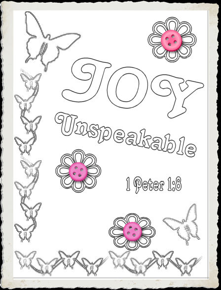 Children S Gems In My Treasure Box Joy Coloring Sheets Joys Coloring Pages Page