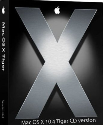 Mac OSX 10.4 Tiger CD  Version x64/x86 2012