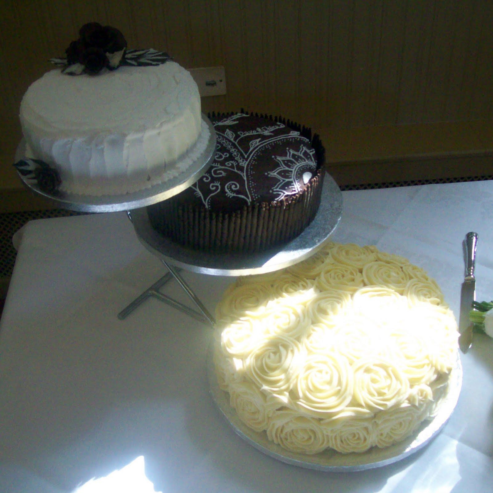 Makey-Cakey: C&D's Wedding Cake: Lemon & Almond Cake with ...