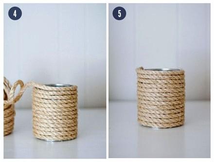 Kerajinan Tangan: Macam-macam Kerajinan Tangan, Vas Dari Kaleng Bekas