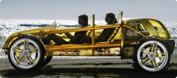 kereta lutsinar transparent