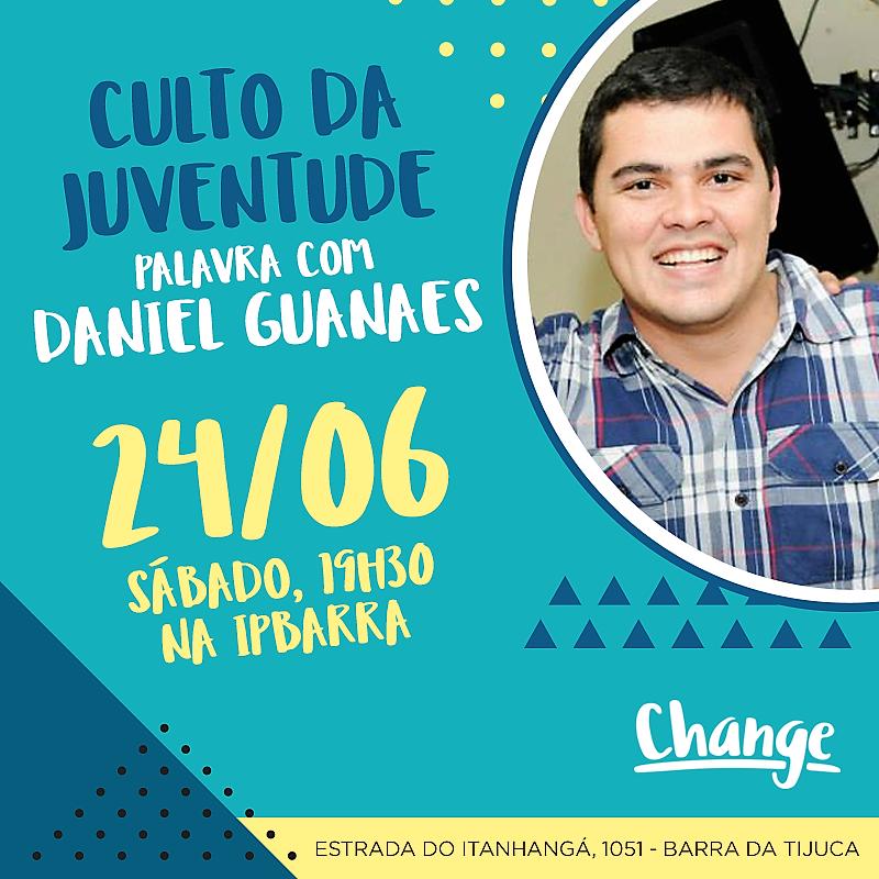 24 de junho, 19h30: Rio de Janeiro