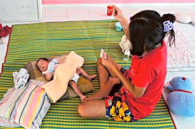 Schwangerschaftsrate Mädchen Thailand