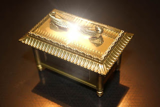 Photo of the ark of the covenant