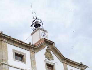 Candelario Salamanca el reloj del ayuntamiento