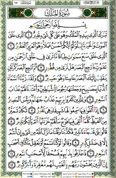 Surat Al Mulk Dapat Mengeluarkan Pembacanya Dari Dalam