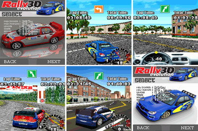 Rally Evolution 3D 240x320 Motorola Java Game | Mobile ...