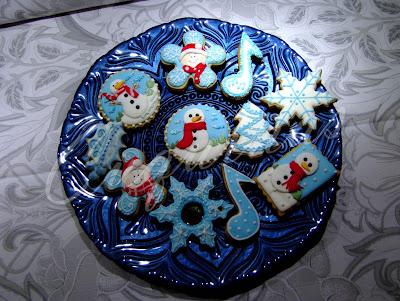 Galletas decoradas Navidadeñas