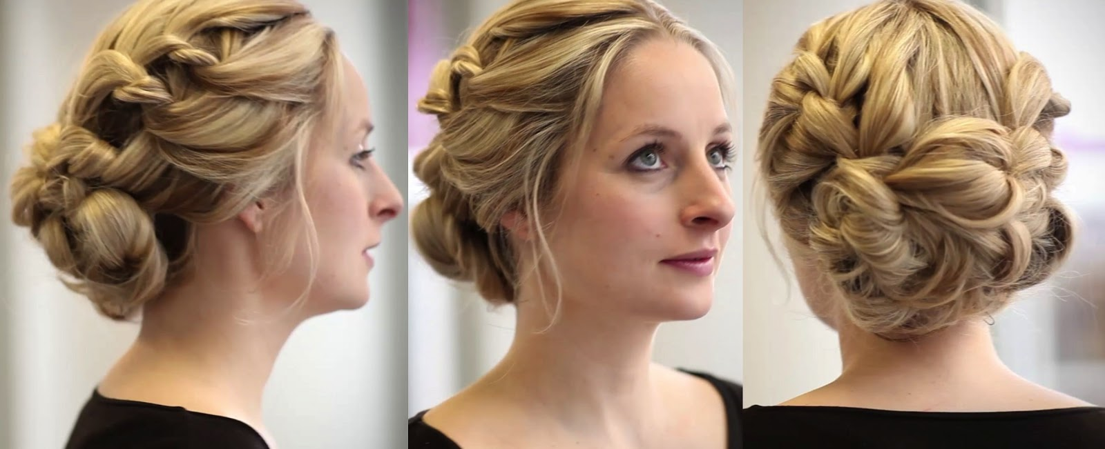Whimsical Bridesmaid Hairstyles with ghd