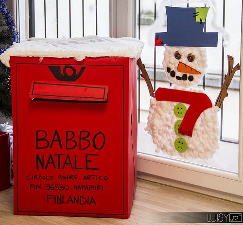 Ilclanmariapia evoluzione moderna di babbo natale for L ufficio postale di babbo natale