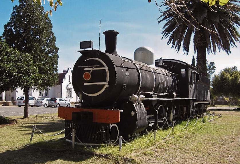 Potchefstroom South Africa  city images : old STEAM LOCOMOTIVES in South Africa: Potchefstroom Station Forecourt ...