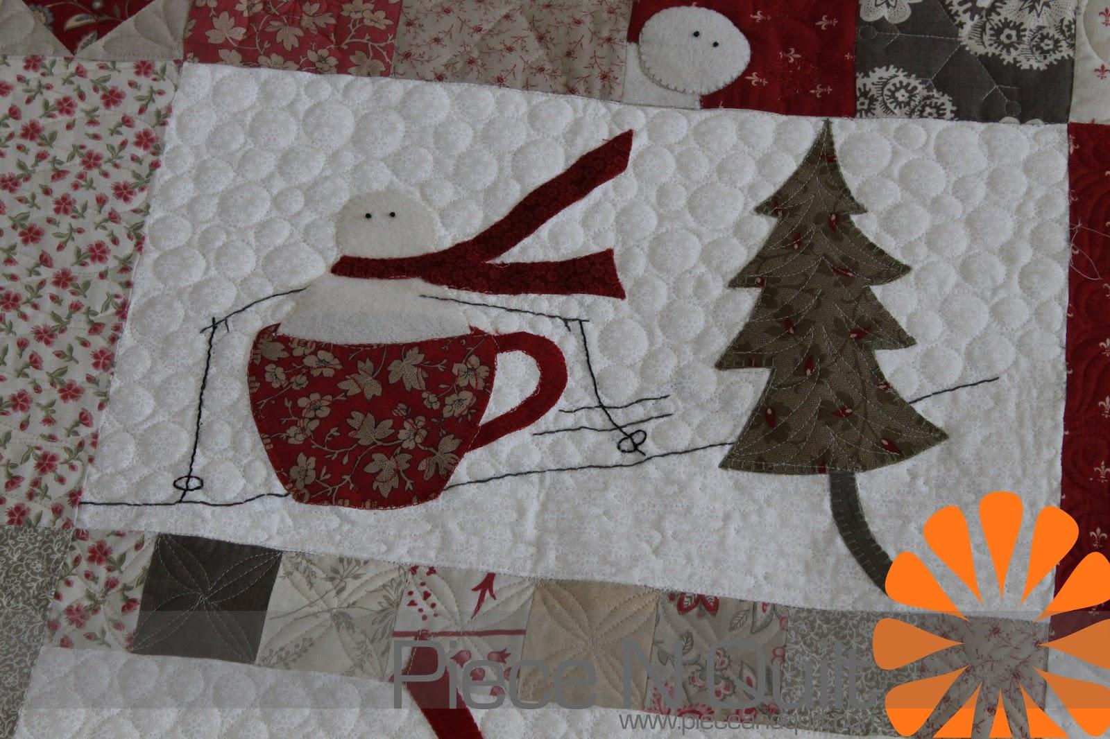 Piece N Quilt Merry Merry Snowmen A Winter Quilt