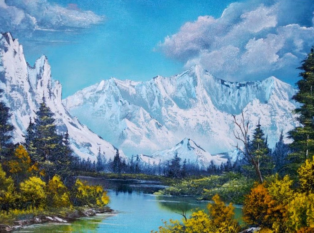 paisajes-con-montanas-cuadros-al-oleo