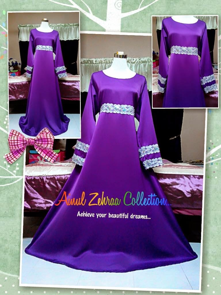 Dress Purple Cantik