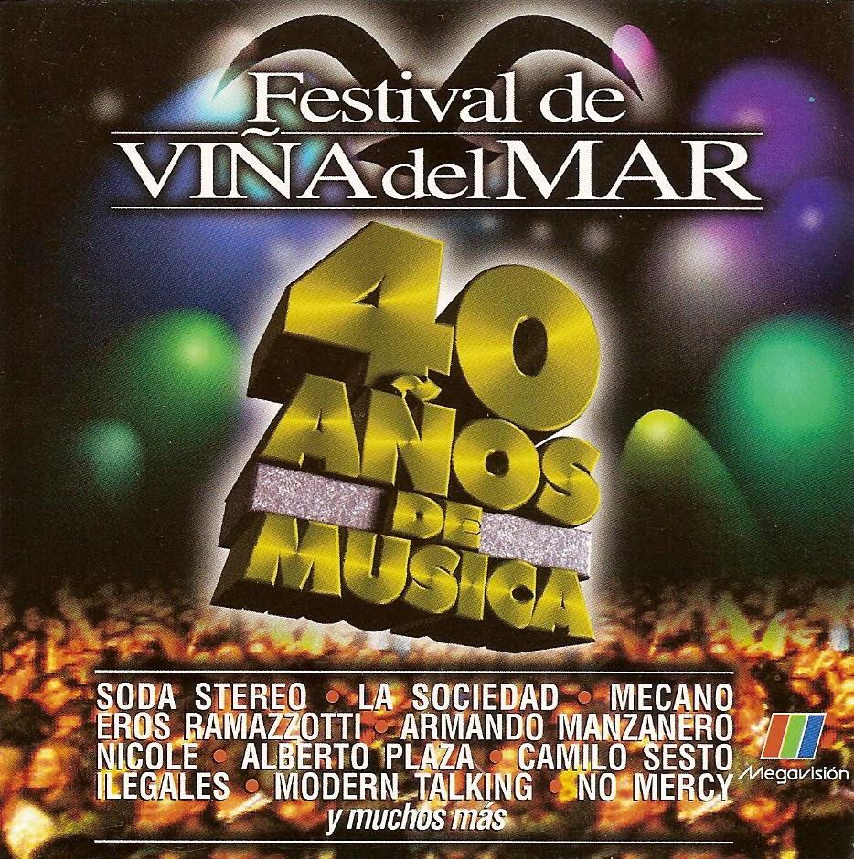 cd 40 años Festival de Viña las mejores canciones FVM_-_Front-1