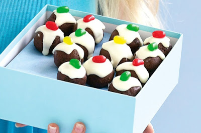 Mini Christmas puddings recipe
